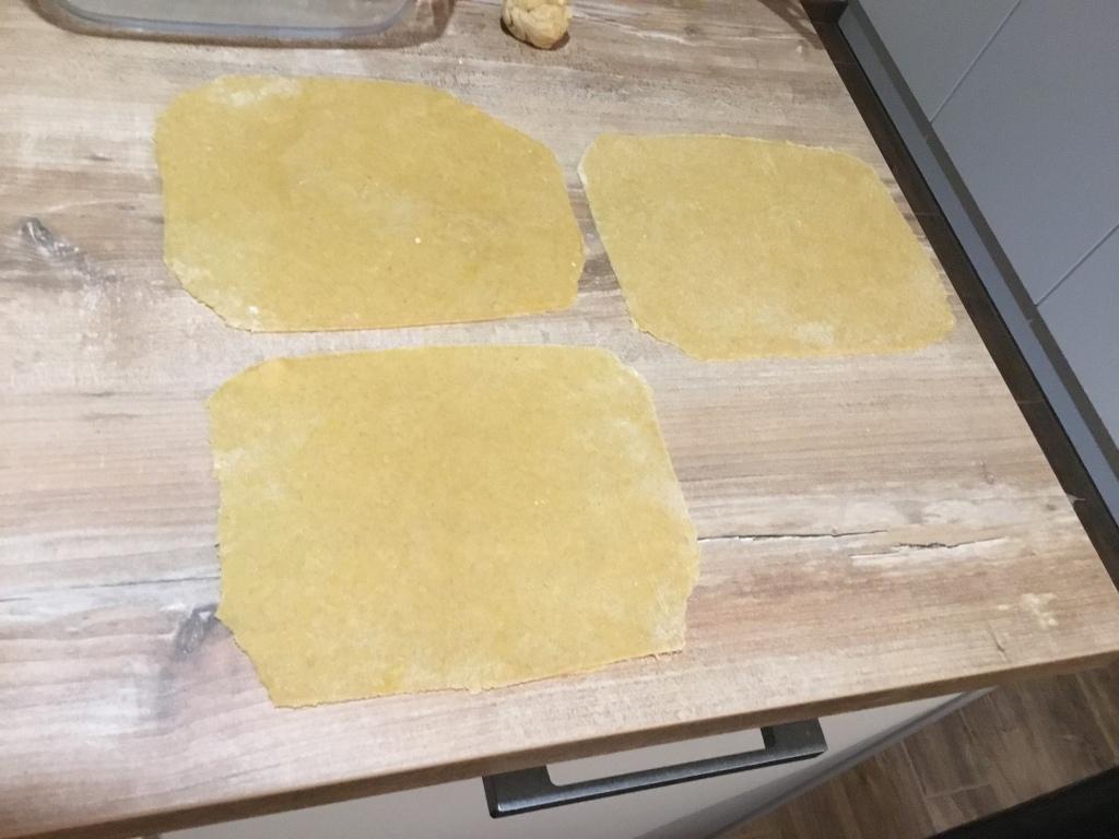 Lasagnes : Etape 3 : étalage